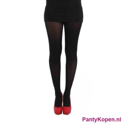 40 DENIER Velvet Panty zwart