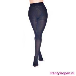 Plus Size 60 DENIER Bum Tum and Thigh Panty zwart